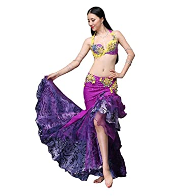 Vientre Señoras del Vestido del Baile De La Falda del Traje De ...