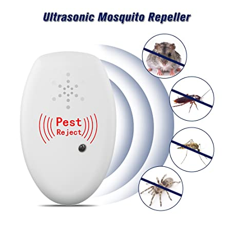 Ultrasonic Pest Repeller Electronic Mouse Bug Repellent Mosquito Pest Rejector Killer Pest Control Device Anti Insects Access Control Kits