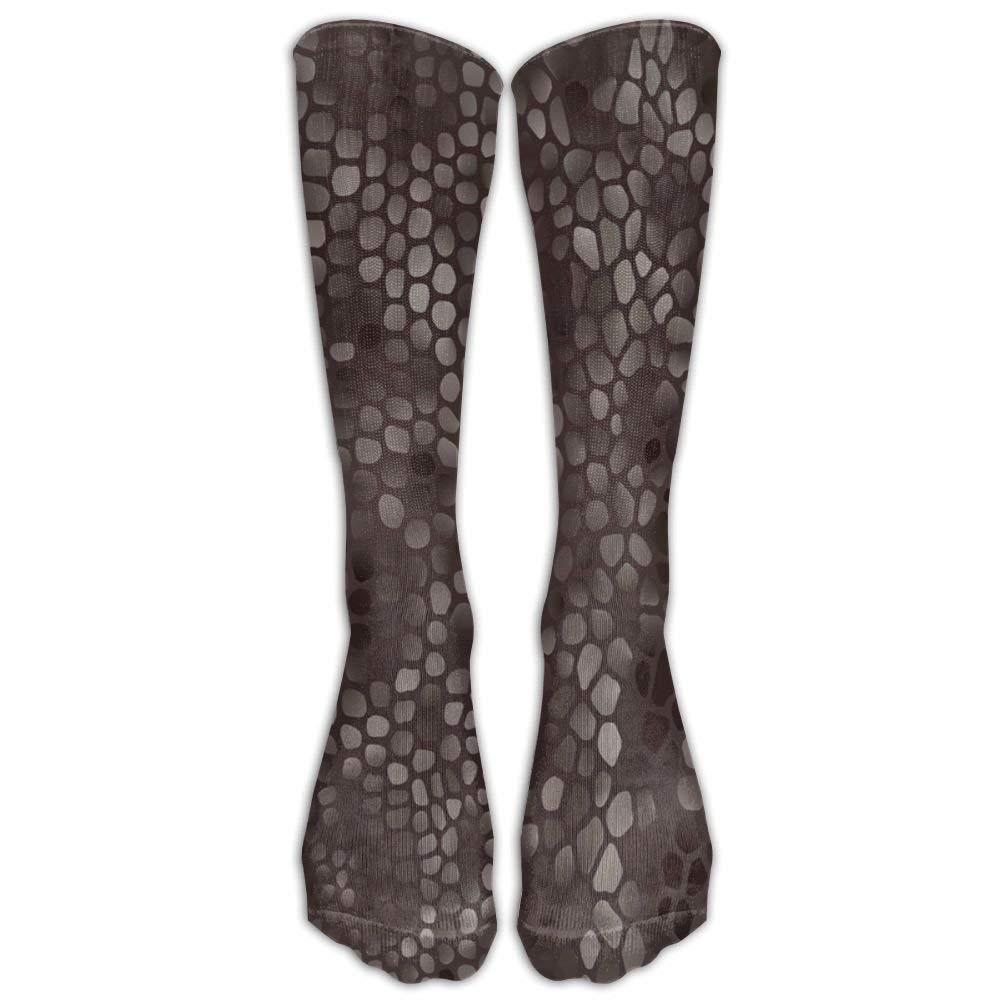Chic Golden White Marble Compression Socks Soccer Socks High Socks Long Socks For Running Medical Athletic Travel Nursing