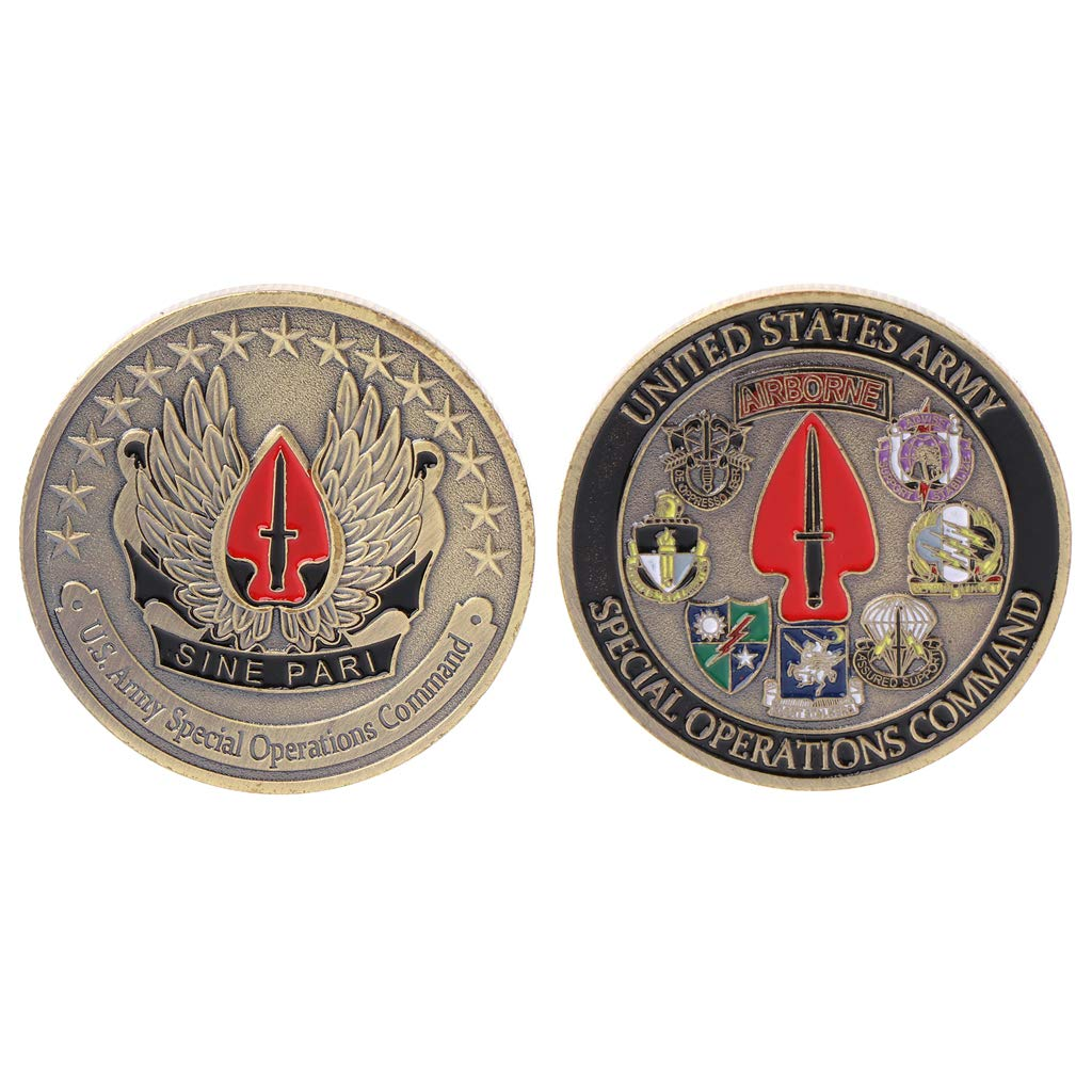 artesan/ía cicianco United States Army Airborne Reto Moneda Conmemorativa recolecci/ón Regalo para Recuerdo Souvenir