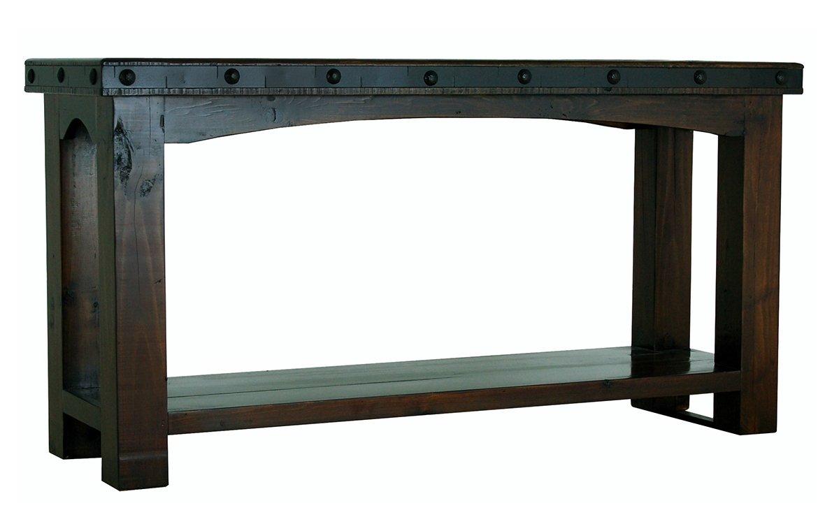 Outstanding Amazon Com Rustic Gran Hacienda Sofa Table Real Solid Wood Download Free Architecture Designs Lukepmadebymaigaardcom