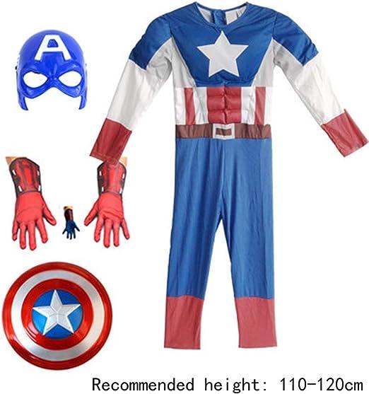 HYYSH Día del niño Cosplay Disfraz de Iron Man Avengers Estados ...