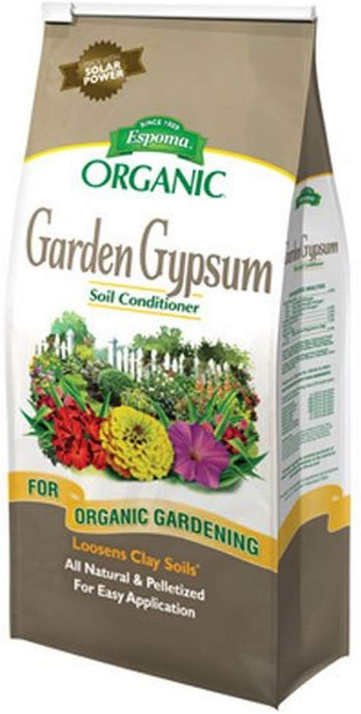 Espoma GG6 Garden Gypsum Fertilizer, 6-Pound