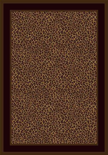 Milliken Innovation Zimbala Leopard Print Rug 2'1