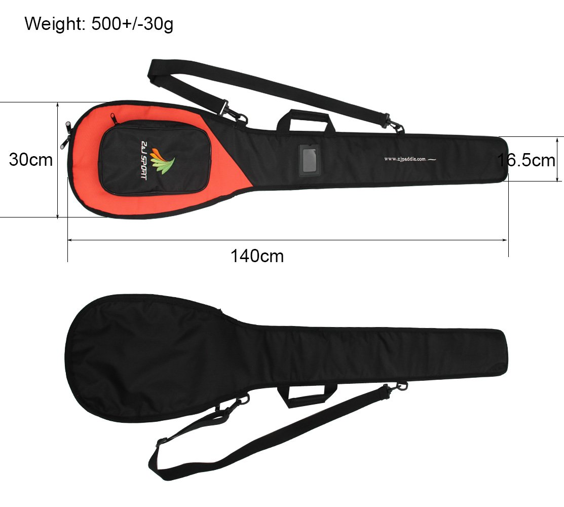 ZJ SPORT New Outrigger Canoe Paddle Bag With Adjustable Strap