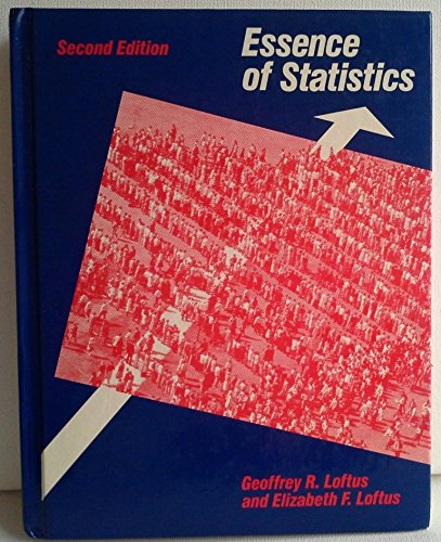Essence of statistics (Alfred A. Knopf series in psychology)