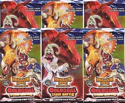 Colossal Team Battle Colossal Rares Dinosaur King TCG  Series 2