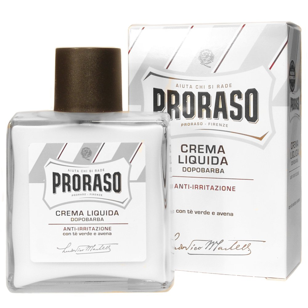 Proraso Alcohol Free Aftershave Balm - Green Tea and Oat
