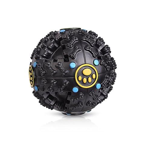 Petacc pelota para perro juguetes de mascar juguete para perro bola de perro dispensador de pienso