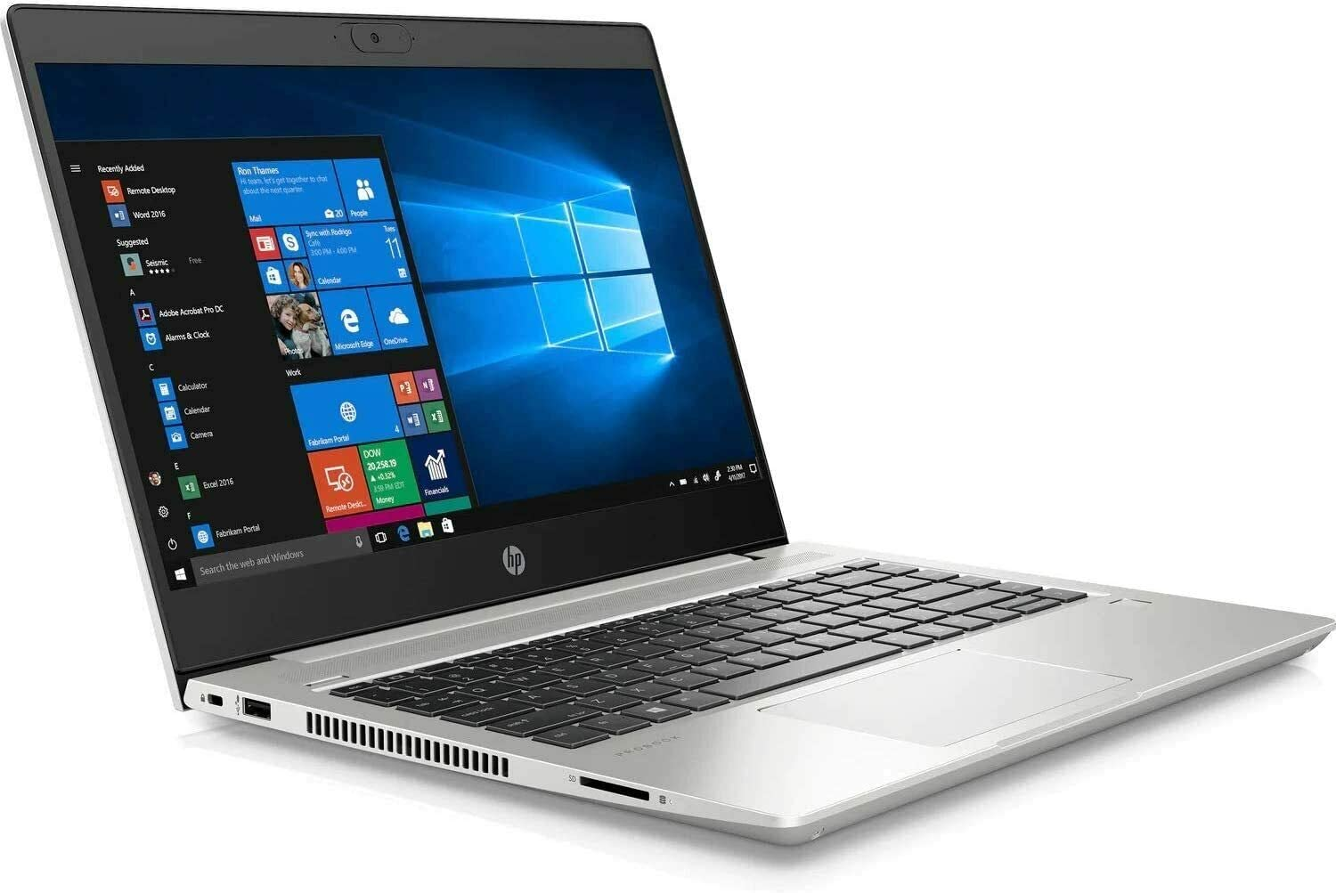 "HP ProBook 440 G7 Laptop, 14"" FHD (1920 x 1080), 10th Gen Intel Core i5-10210U, 16GB RAM, 512GB SSD, Windows 10 Pro"