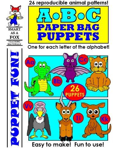 ABC Paper Bag Puppets pdf