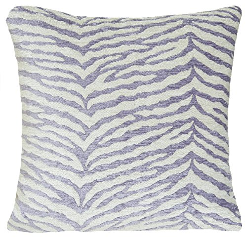 Cushion Cover Decorative Throw Pillow Case Osborne and Little Fabric Chenille Selati Grey (Chenille Zebra Fabric)