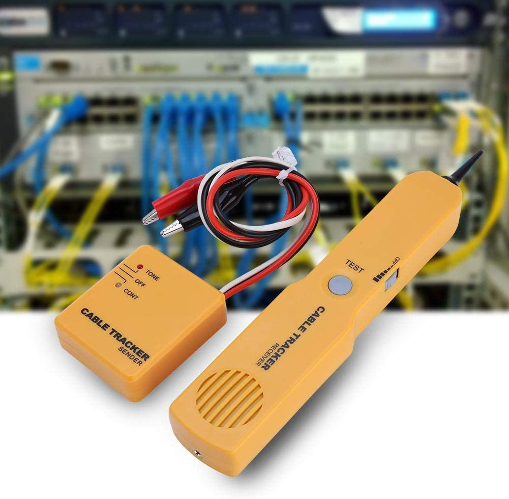 tragbarer R11/Netzwerk Kabel Tester Ton Empf/änger Zerone Draht Tracer
