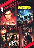 4 Film Favorites - V for Vendetta - Watchmen - Jonah Hex - Spawn