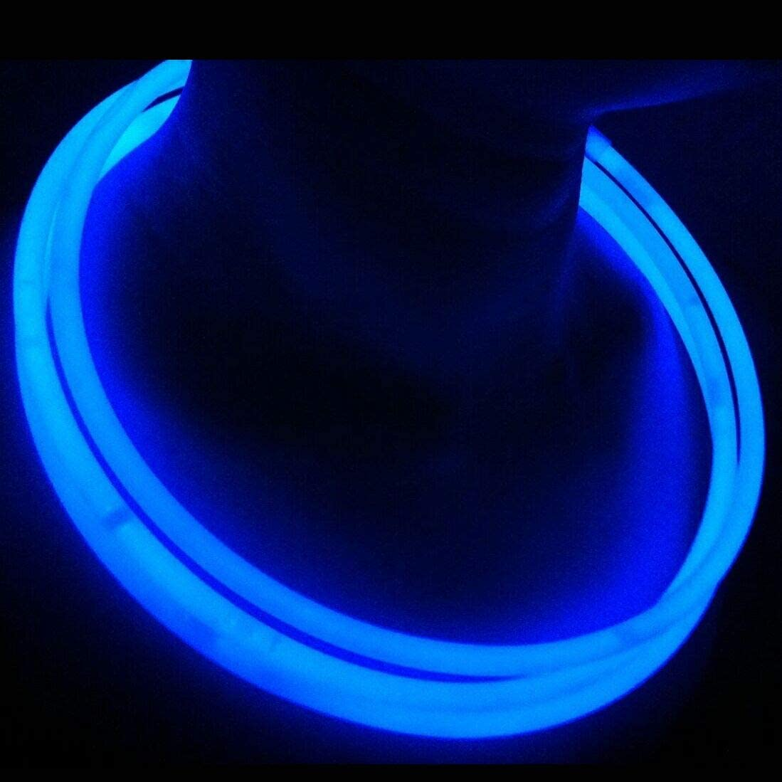 """GLOW NECKLACES 22/"""" ASSORTED COLOURS PREMIUM QUALITY WITH CONNECTORS"""