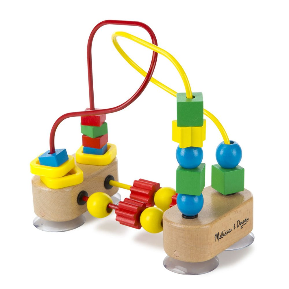 Melissa & Doug First Bead Maze - Wooden Educational Toy