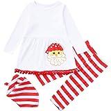 366c0356380f0 Oyedens Ensembles bébé Fille Noël vêtements pour bébé Nouveau-né bébé Fille  Hiver Automne Père