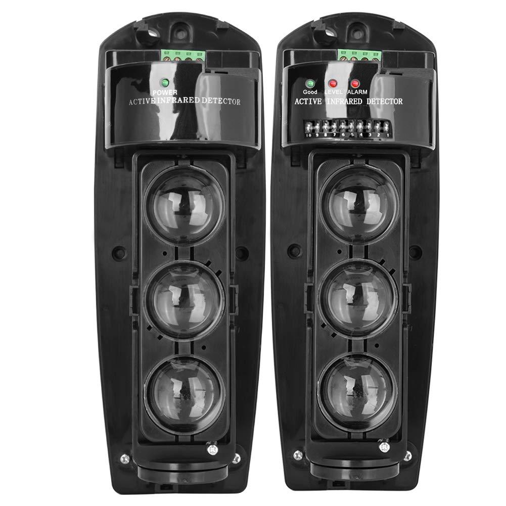 ABE-150 Detector IR de Seguridad Triple Haz Fotoel/éctrico Alarma de Seguridad en el Hogar Detector de Infrarrojos Sensor para el Hogar