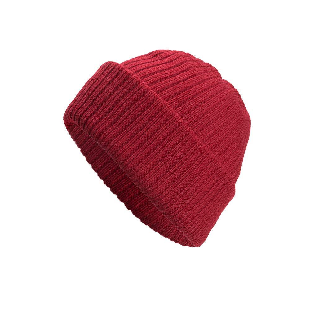 Cebbay Bonnet Femme Unisexe Homme Chapeau, Chaud Chapka Turban Baggy Weave Headwear, Hiver Coton Headgear Chic Beanie Hats Crâne Ski Caps