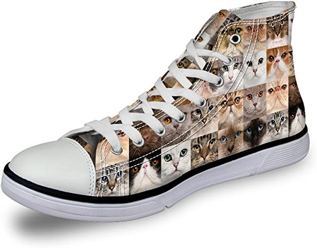 Casual Canvas Shoes High Top Sneakers