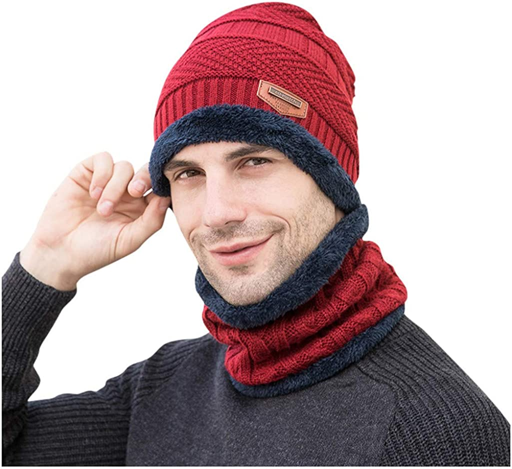 Remember Everyone Deployed Women and Men Skull Caps Winter Warm Stretchy Knitting Beanie Hats RED