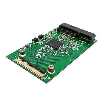 Mini PCI-E tarjeta de adaptador SSD mSATA a 40 Pin ZIF para ...