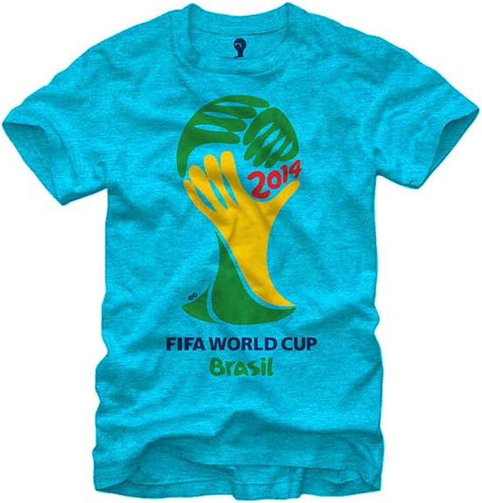 FIFA 2014 World Cup Soccer Official Logo Men's T-Shirt