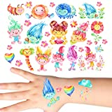 Groovi - Trolls Trolls Trolls Temporary Tattoo Set for Kids (33 pack) - TATT-385