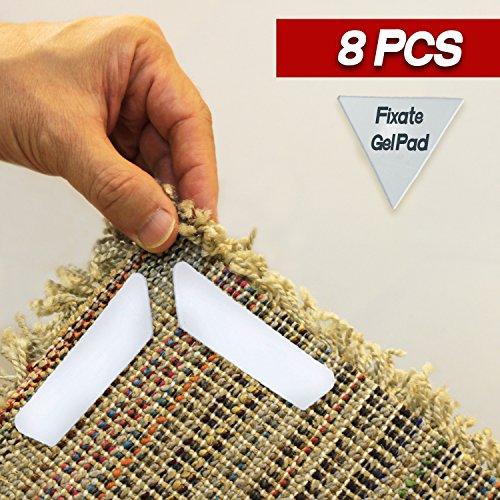 Premium Rug Gripper - Reusable Carpet Grippers, Suitable For Hardwood, Tile Floors. Alternative For Non Slip Pads, Sticky Tape. by Alphastic