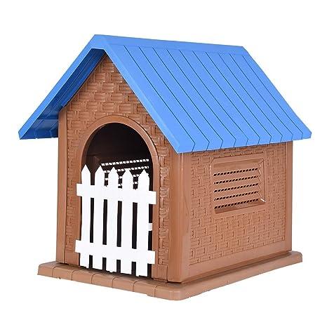 Amazon.com: Casa para mascotas Kimanli, caseta de plástico ...