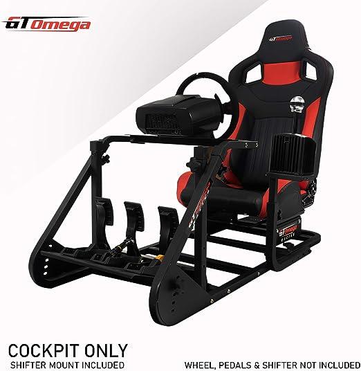 GT Omega ART Racing Simulador Cockpit RS6 Asiento de Consola de ...
