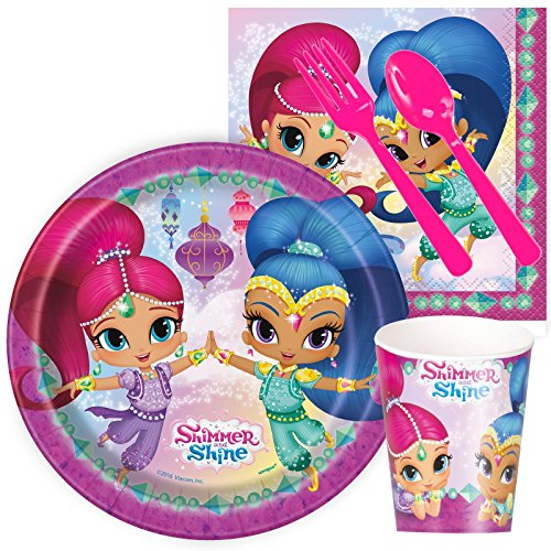 [Amscan One Wild Girl 1st Birthday Square Plates, 10