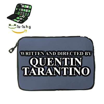 Written and Directed by Quentin Tarantino Fashion Cute Travel Advanced Electronics Accessories Organiser Bag Gray