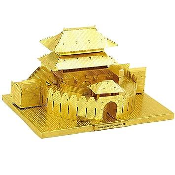 Homyl Juguete de Rompecabezas de Metal 3D Construcción Arquitectónica Ornamento de Hogar Oficina - Corea Hwaseong(11.3x7.9x10.2cm): Amazon.es: Juguetes y ...