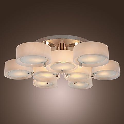 LightInTheBox Acrylic Chandelier with 9 lights, Flush Mount ...