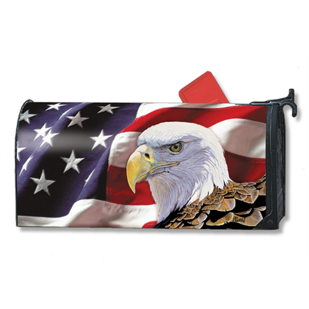Spirit of Freedom LARGE MailWraps Magnetic Mailbox Cover #21502
