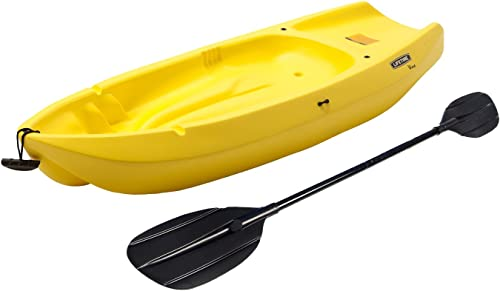 Lifetime Wave Youth Kayak with Paddle Yellow, 6-Feet