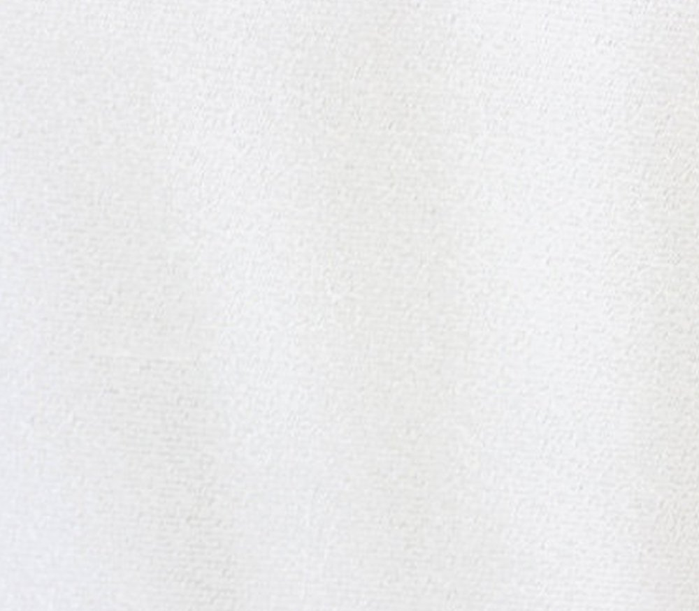 Triple Velvet Fabric WHITE / 44 Wide / Sold by the Yard by FABRIC EMPIRE   B017J82CC4