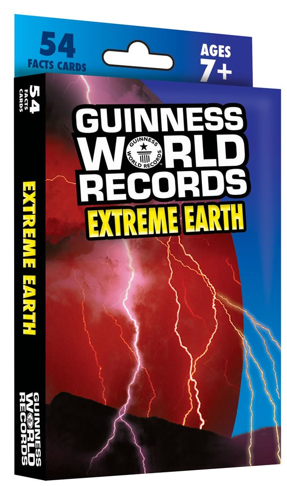 Guinness World Records Extreme Earth Learning Cards