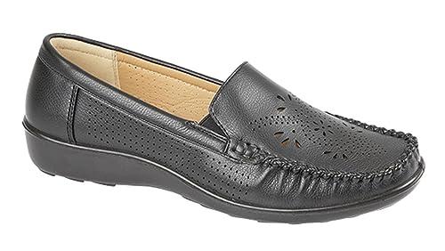 Stylo - Mocasines chica mujer , color negro, talla 40: Amazon.es: Zapatos y complementos