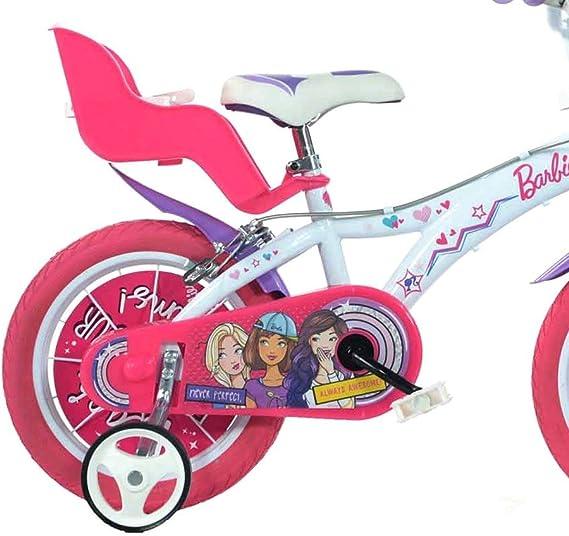 Bicicleta para niños DINO BIKES 614 G-BA talla 14 BARBIE edad de 3 ...