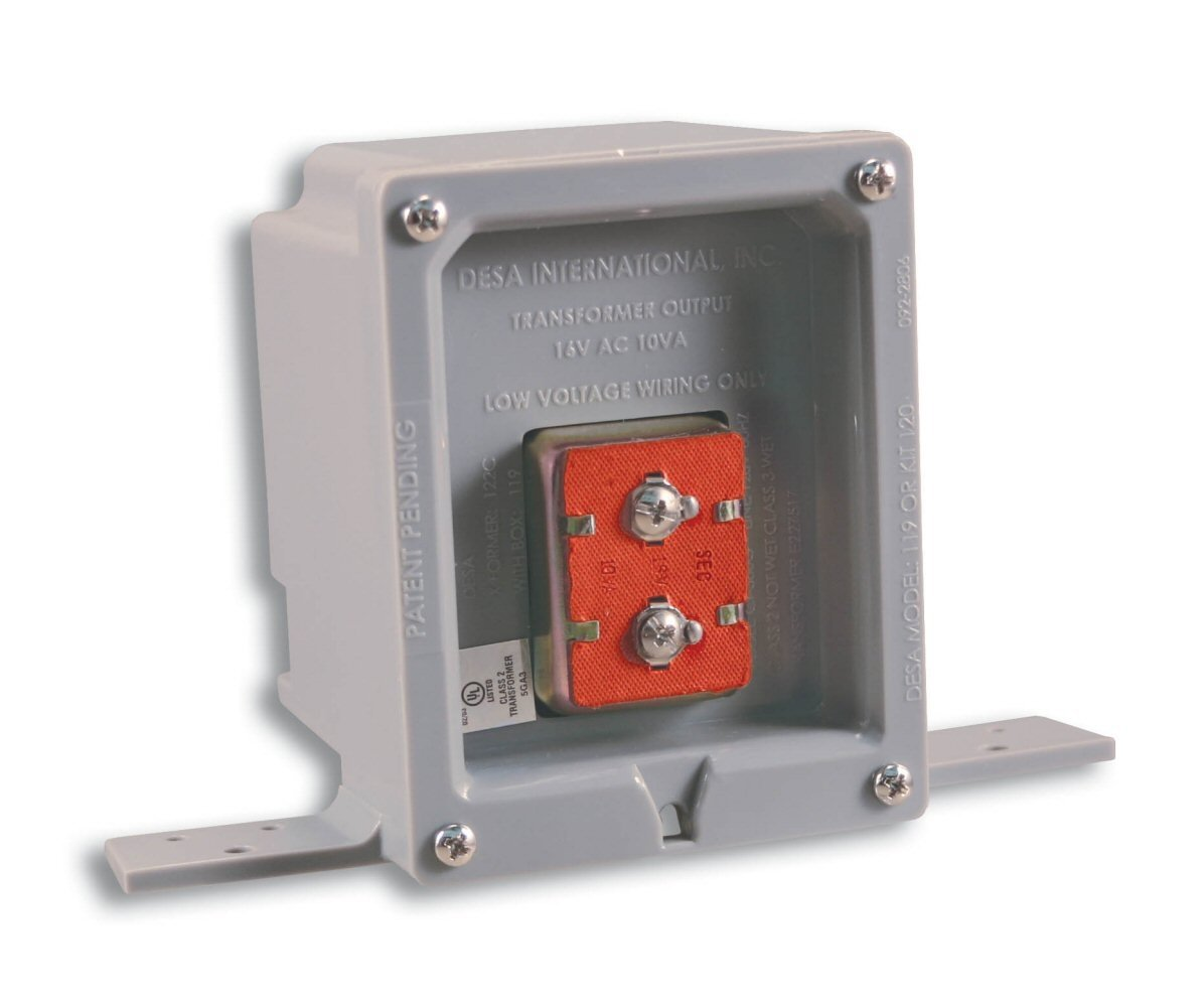 Heath Zenith 119 Wired Door Chime Transformer With Ul Listed Rough Wiring From The Manufacturer