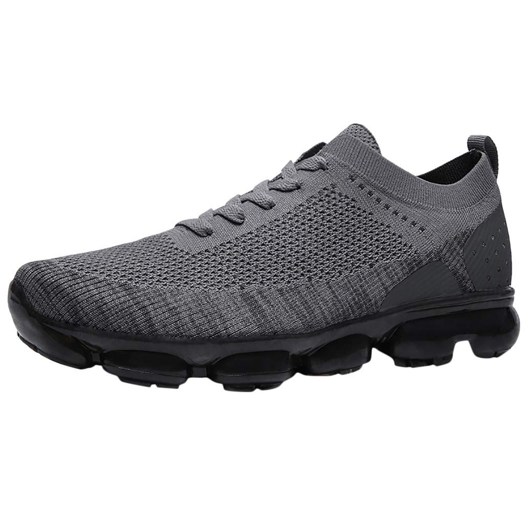 Women Mens Outdoor Sneakers - Flats Lightweight Comfortable Breathable Athletic Casual Non-Slip Walking Shoes by Dacawin-Men Sneakers