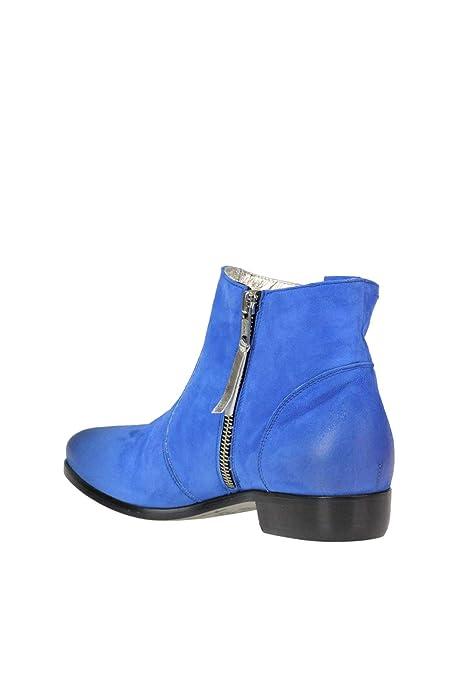 Alexander Hotto Damen MCGLCAS000005024E Blau Wildleder