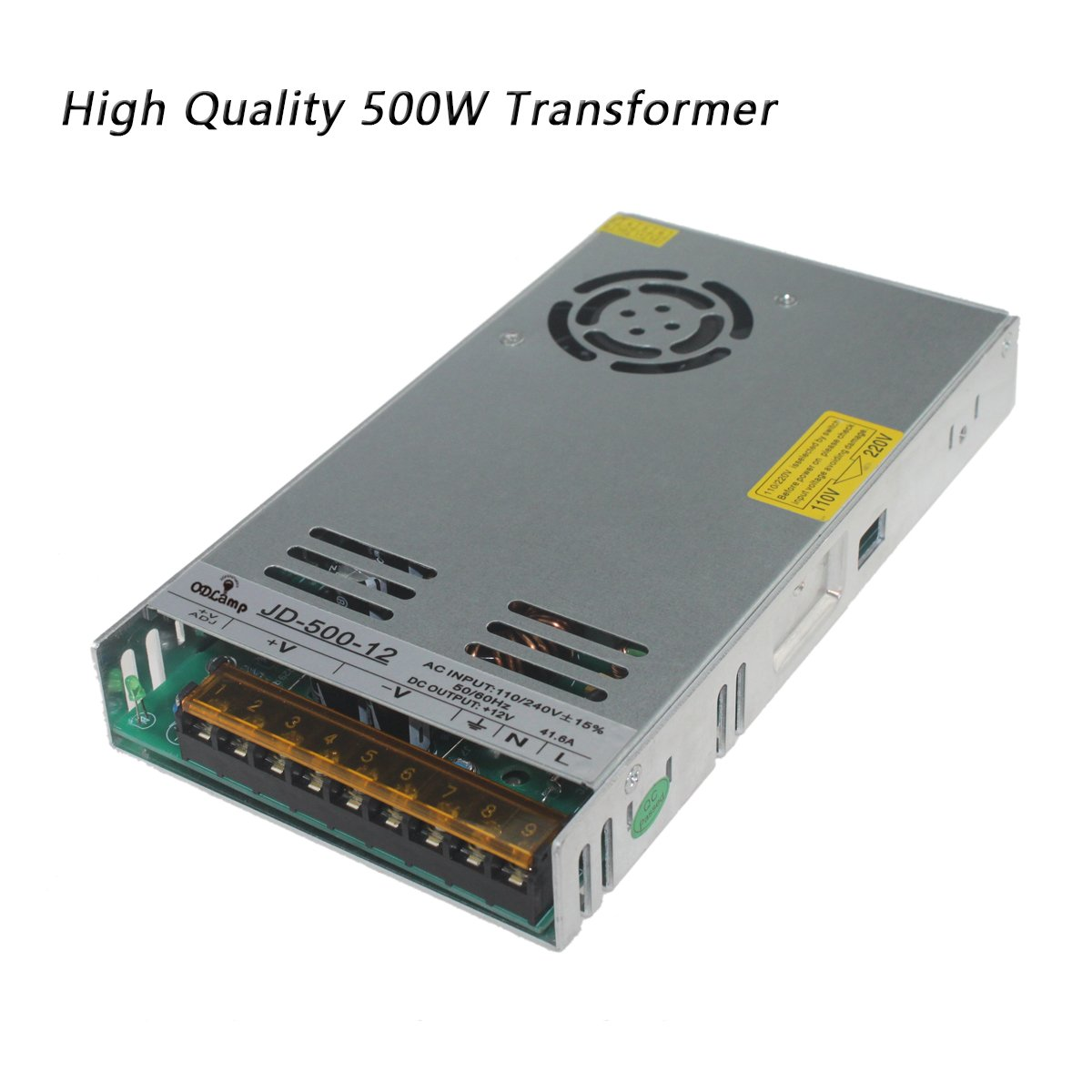 DC 12V 120W 250W 400W 500W Led Transformer Power Supply Driver Constant Voltage LED For Led Strip Led Module Lights (500W)