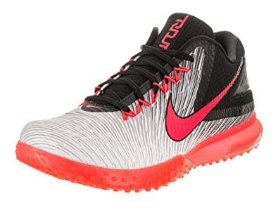 Nike Men\u0027s Trout 3 Turf Black/Bright Crimson/White Training Shoe 8.5 Men US