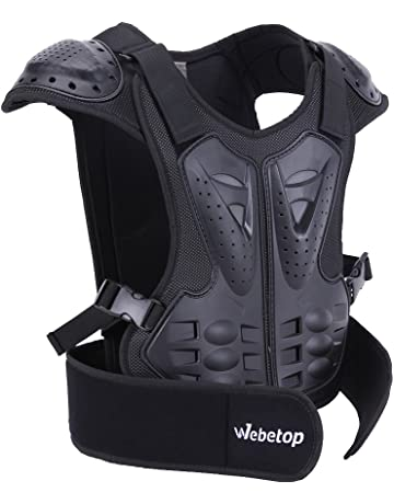 Webetop Kids Dirt Bike Body Chest Spine Protector Vest Gear for Motocross  Skiing 380c824e9