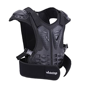 Webetop Kids Dirt Bike Body Chest Spine Protector