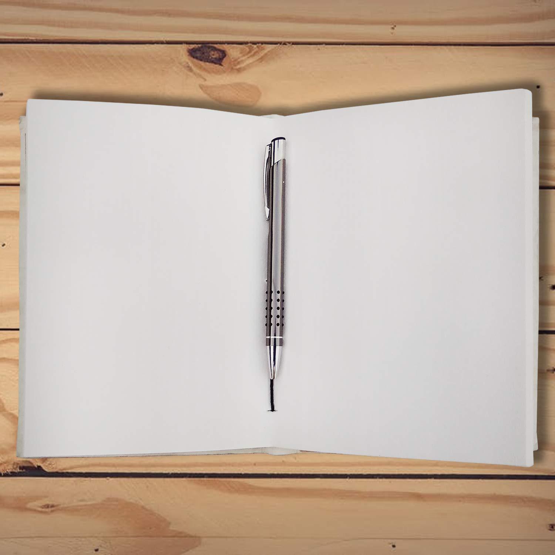 Amazon.com: Diario de cuero pintado a mano, árbol de la vida ...