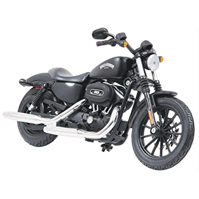 2014 Harley Davidson Sportster Iron 883 Motorcycle Model 1/12 by Maisto 32326: Toys & Games